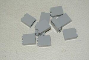 Dark Bluish Gray Brick 1 x 2 x 2 LEGO Parts QTY 5 No 3245c