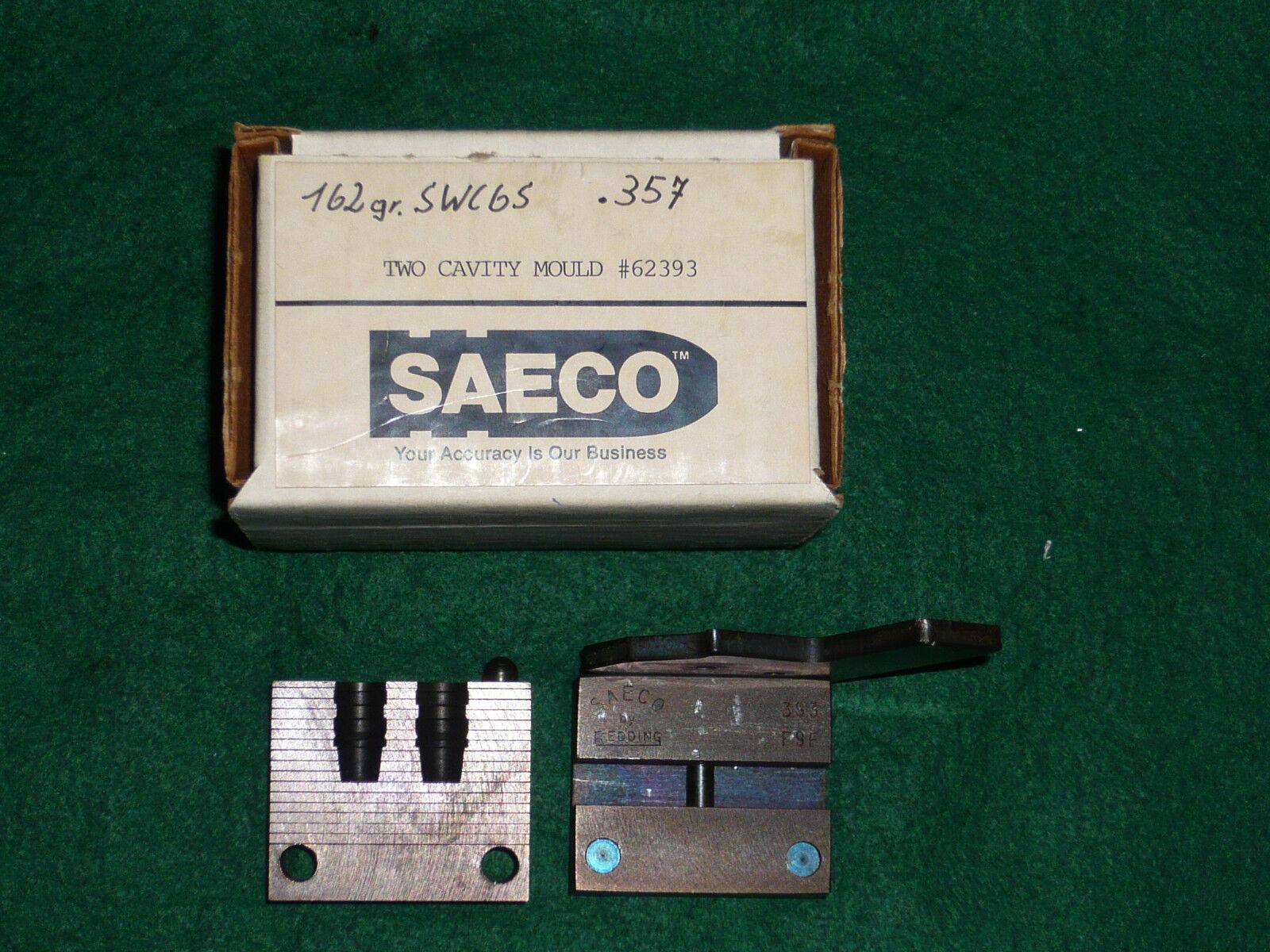 SAECO SAECO SAECO by rotding Doppelkokille Gießkokille Kaliber .38 .357 , 162 Grain SWC 93208b