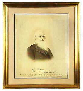 Samuel-Morse-Historic-Photograph-Signed-Twice-w-Morse-Code-amp-Holograph-Message