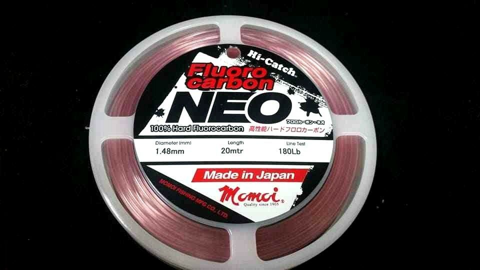 Momoi Hi-Catch NEO Pink 180lb  Flurocarbon Leader fluro carbon  made in japan  quality guaranteed