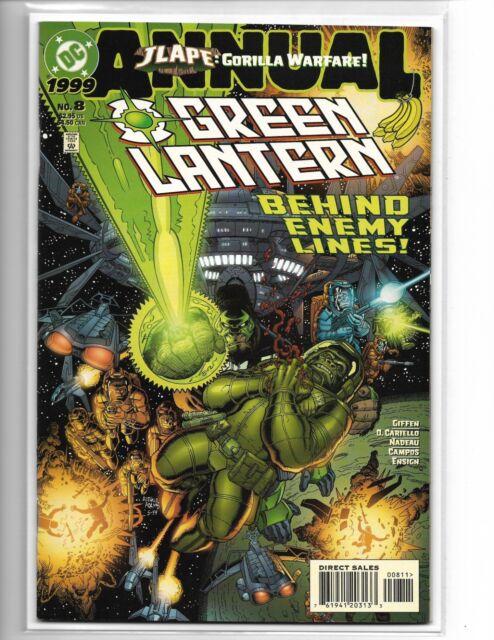 GREEN LANTERN ANNUAL #8 JLAPE -- ART ADAMS COVER