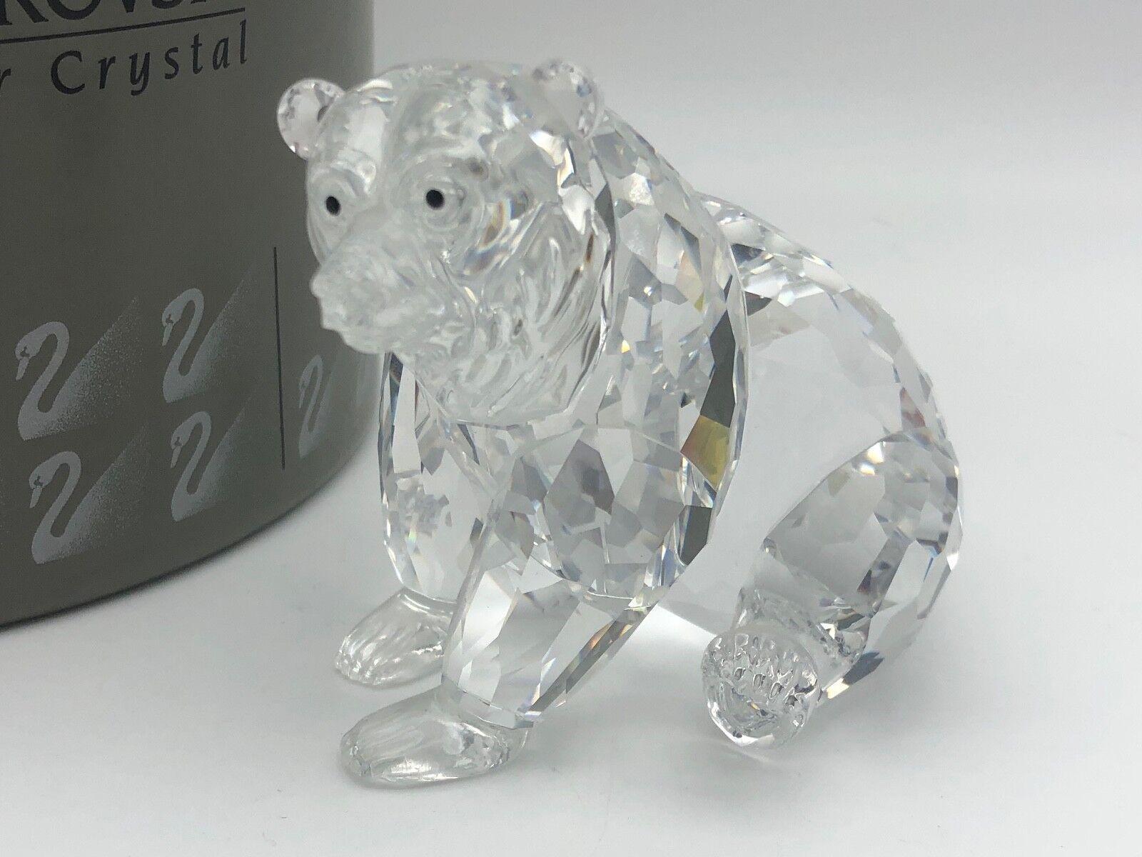 Swarovski Figur Grizzlybär sitzend 9 cm. Mit Ovp & Zertifikat. Top Zustand