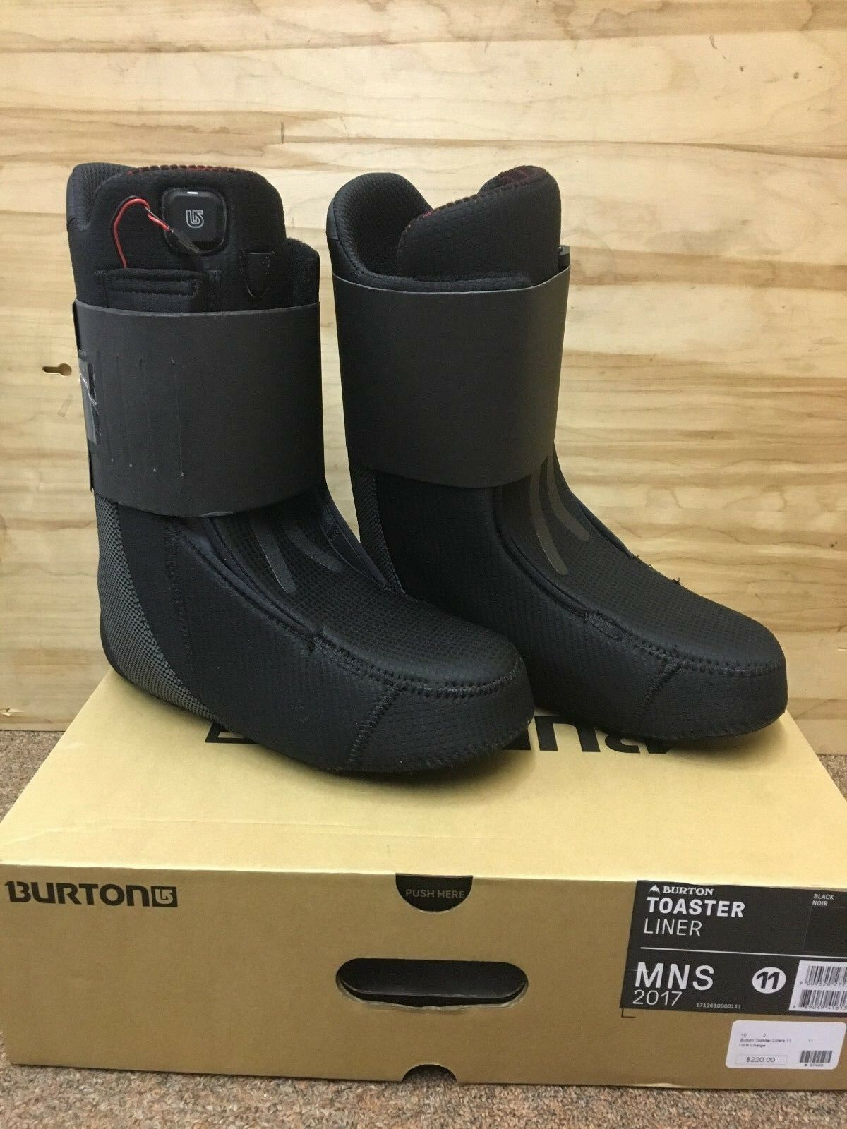 NEW Burton Toaster  Liners - Men's Size 11 Mmm... toasty   save up to 70% discount