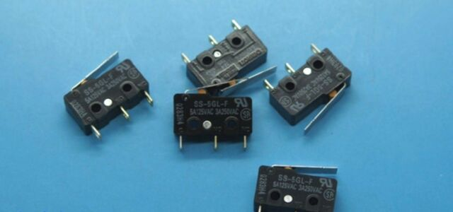 10PCS NEW IN BAG OMRON Micro Switch SS-5GL-F