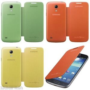 more photos a9198 a0b82 Details about Genuine Samsung Flip Cover Case For Galaxy S4 Mini i9195T  Telstra Vodafone