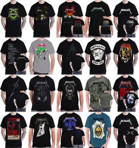 G/én/érique Metallica T Shirt and Justice for All Tracks Back Print Nouveau Officiel Homme