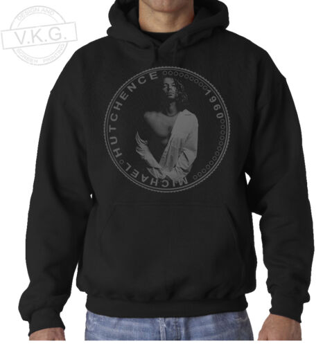 INXS MICHAEL HUTCHENCE Cool Coin Hoodie Sweatshirt by V.K.G.
