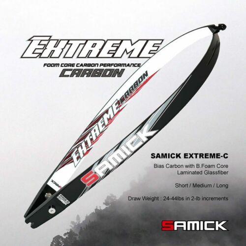 Open Box Deal Samick Extreme-C Foam Core Carbon ILF Limbs