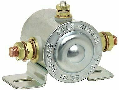 Cole Hersee NEW 12 VOLT 4 TERM 65 AMP CONTINUOUS DUTY SOLENOID 24117-01 24117-01BX 24117-01BP 24117-01