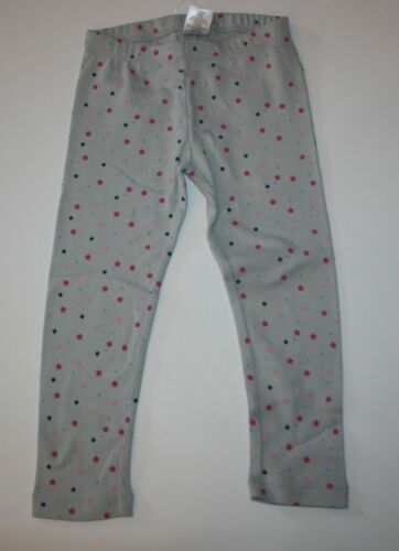 New Gymboree Girls Outlet Light Gray Pink Star Print Leggings NWT 2T 3T Year