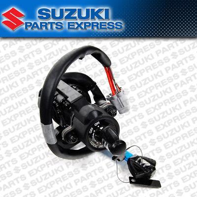 CNC USA For GSXR1000 2005-2016 Steering Ignition Switch Fuel Gas Cap Lock Keys