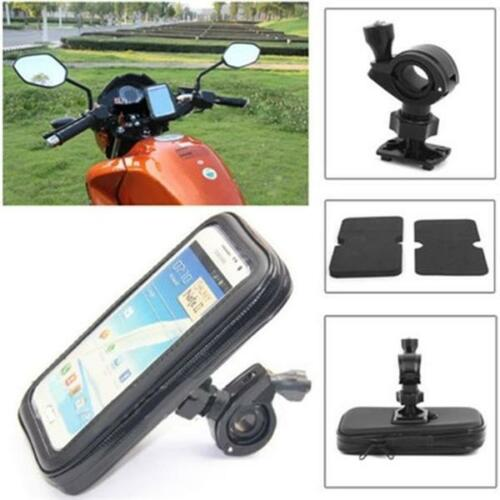 Bicycle Motor Bike Waterproof Phone Case Mount Holder For Mobile Phones J