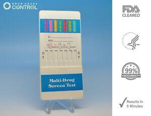 Drug Test Kits >> 5 12 Panel Dip Drug Test Testing Kits 12 Diff Drugs 682500491184 Ebay