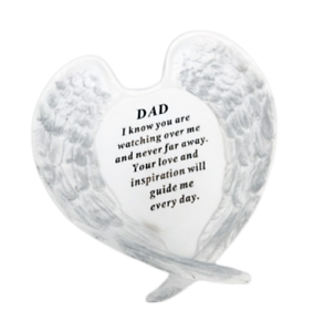 Dad-Angel-Wings-Grave-Ornament-Memorial-Graveside-Decoration-Special-Remembrance