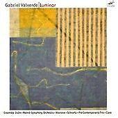Gabriel VALVERDE Luminar CD MODE RECORDS Ensemble 2e2m Malmo SO Vox Nova