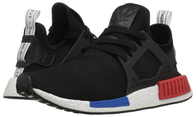 brand new 5aadc b8bc8 New Adidas Originals Mens NMD_XR1 PK BY1909 OG Black Red Blue 9 9.5 10.5