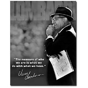 Green-Bay-Packers-Vince-Lombardi-Measure-Of-A-Man-Retro-Decor-Metal-Tin-Sign-New
