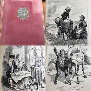 Antiquarian book punch drawings F H Townsend 1921 craft crafting decoupage art
