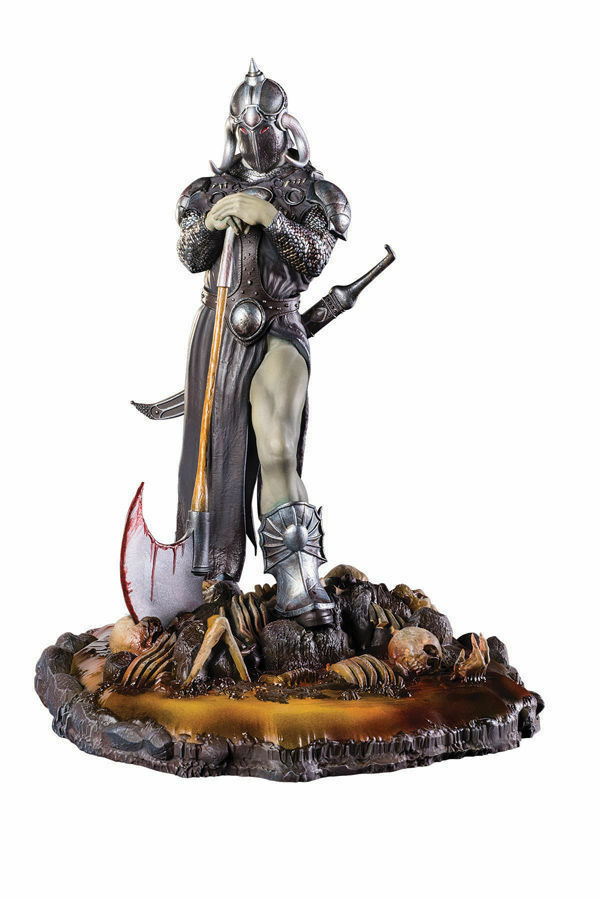 STATUE DEATH DEALER FRAZETTA - VERSION 3 - STATUETTE DARK HORSE - EN STOCK