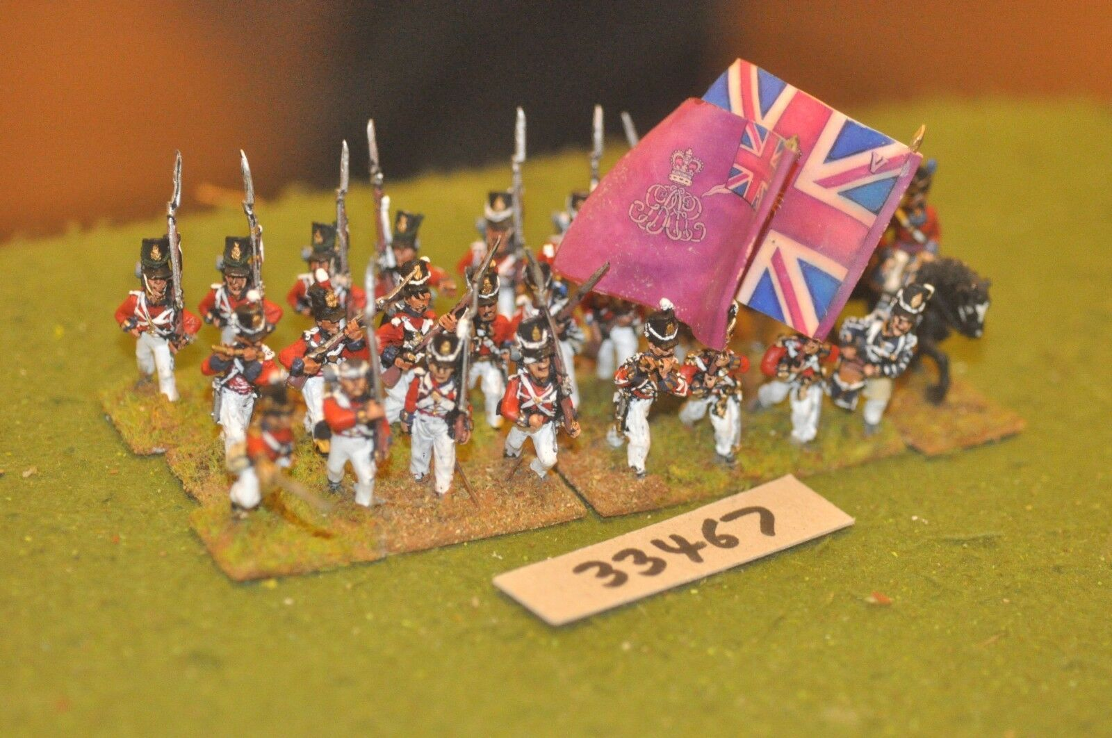 25mm napoleonic   british - - - line 25 figures - inf (33467) 47a3cb