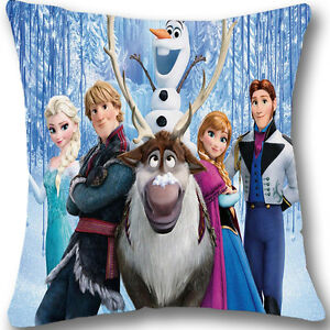 Disney-Frozen-Series-Zippered-18-Cushion-Cover-Case-Decorative-Pillowcase-L279