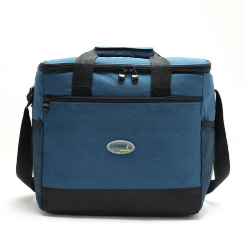 Multi Color Portable Insulated Cooler Bag Waterproof Picnic Food Lunch Box Large