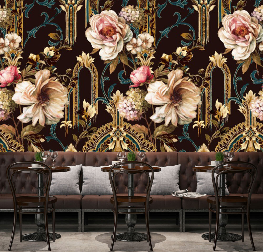 3D Flowers Pattern 25 Wall Paper Wall Print Decal Wall Deco Indoor AJ Wall Paper