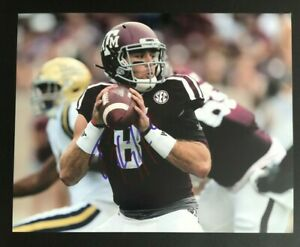 TREVOR KNIGHT NCAA Texas A&M Aggies Football Auto Autographed Signed 8x10 Photo