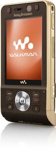 Sony-Ericsson-Walkman-W910-Slider-Handy-Havanna-Bronze-gold-offen-fuer-alles