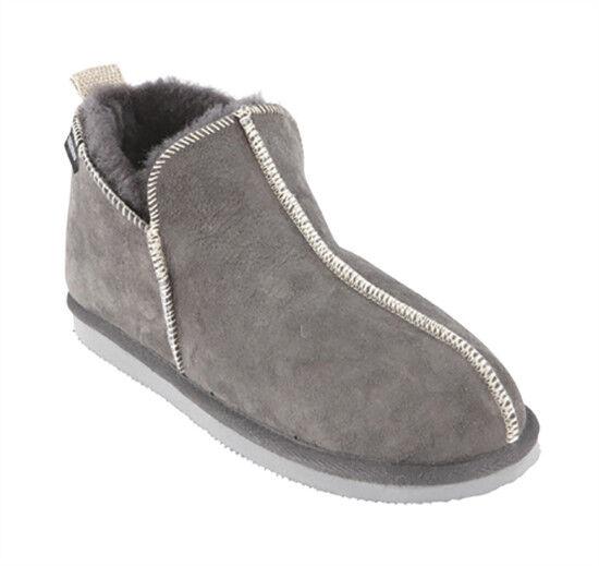 marchi di moda Pastore grigio grigio grigio Louise Ladies montoncino Slipper  100% autentico