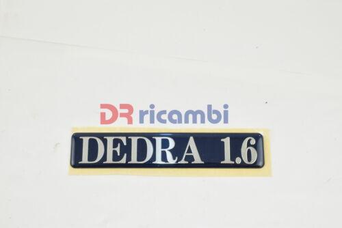 "LOGO FREGIO SIGLA MODELLO LANCIA /"" DEDRA 1.6 /"" DR0596"
