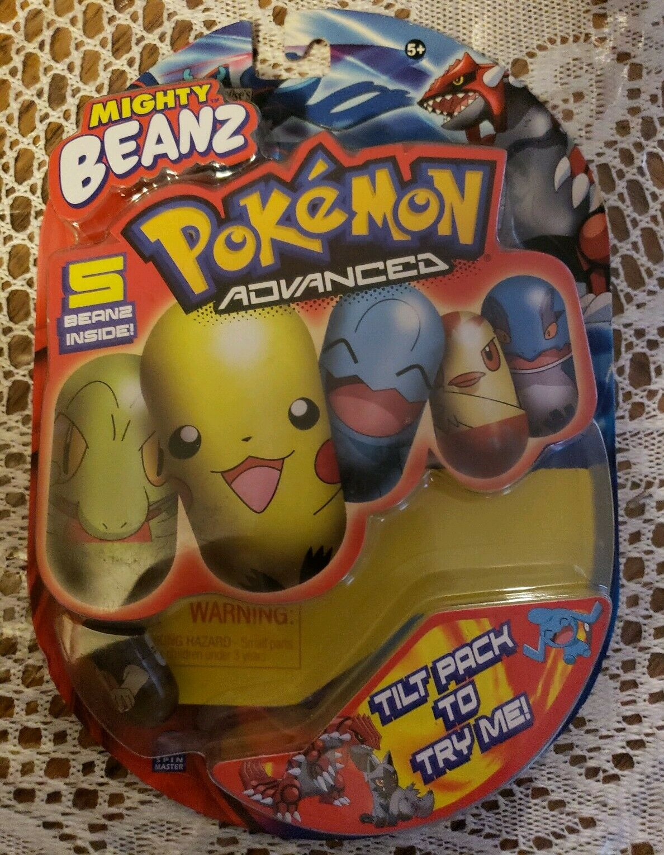 POKEMON Mighty Beanz (2004) - Sealed in Box - Read