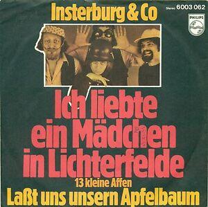INSTERBURG-amp-CO-ICH-LIEBTE-EIN-MADCHEN-IN-LICHTERFELDE-7-034-SINGLE-B167
