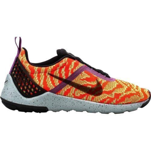 sports shoes c5457 998e1 NEW Nike Lunarestoa 2 KJCRD QS Black Total Crimson Green 777503-006 MEN  SIZE 8