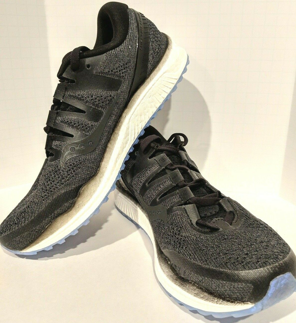 Saucony donna Freedom ISO 2 Everun S10440-1 nero Dimensione 8 8 8 Running scarpe 6f20e2