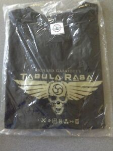Richard-Garriot-039-s-Tabula-Rasa-Black-XL-T-Shirt-NEW-Preshrunk-Cotton