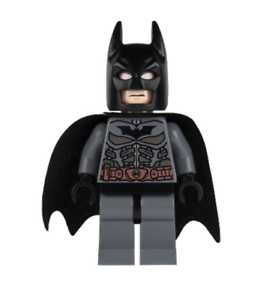 Lego Batman 76001 Dark Bluish Gray Suit w// Copper Belt Super Heroes Minifigure