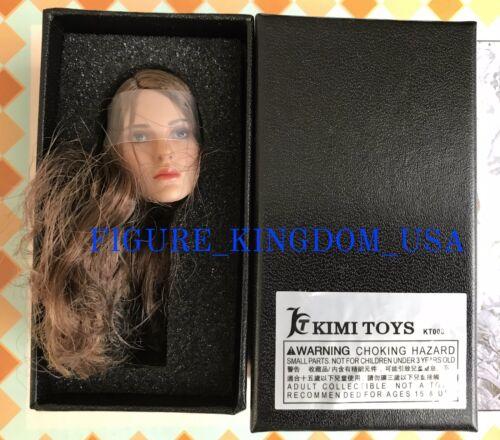 """1//6 Natalie Portman Female Head Sculpt KIMI KT008 For 12/"""" TBLeague PHICEN Figure"""