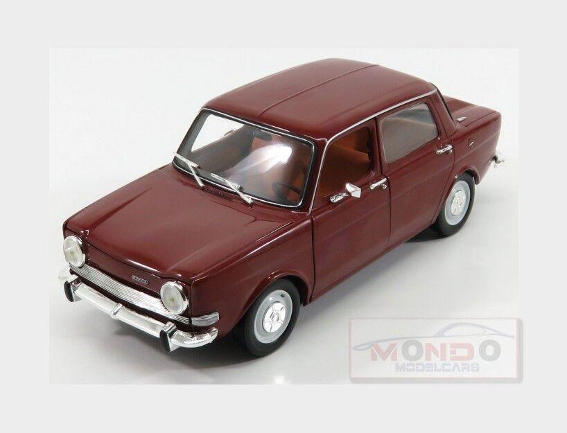 forma única Simca Simca Simca 1000 Ls 4-Door 1974 Amarante rojo NOREV 1 18 NV185713  garantía de crédito