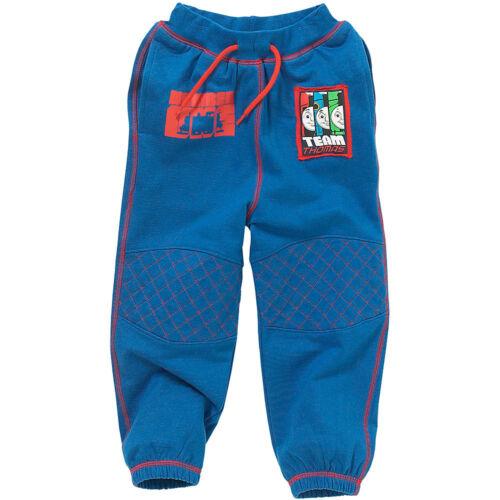 Garçons THOMAS THE TANK ENGINE Enfiler Jogging Pantalon Élastique Bleu Marine Taille 1-6 Ans