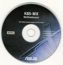 ASUS K8S-MX Motherboard Drivers Installation Disk M502