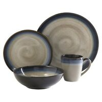 Gibson Couture Bands 16pc Dinnerware Set