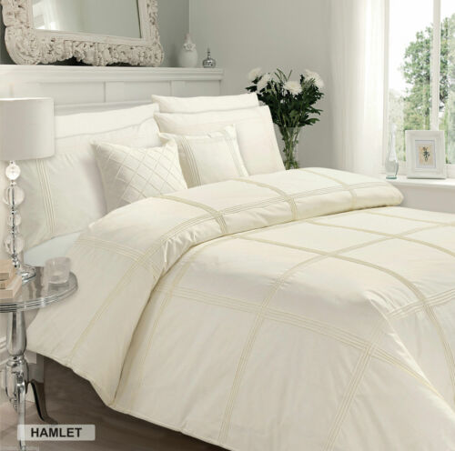 New Signature Range Duvet Quilt Cover Set with Pillow Cases All Sizes and Colors