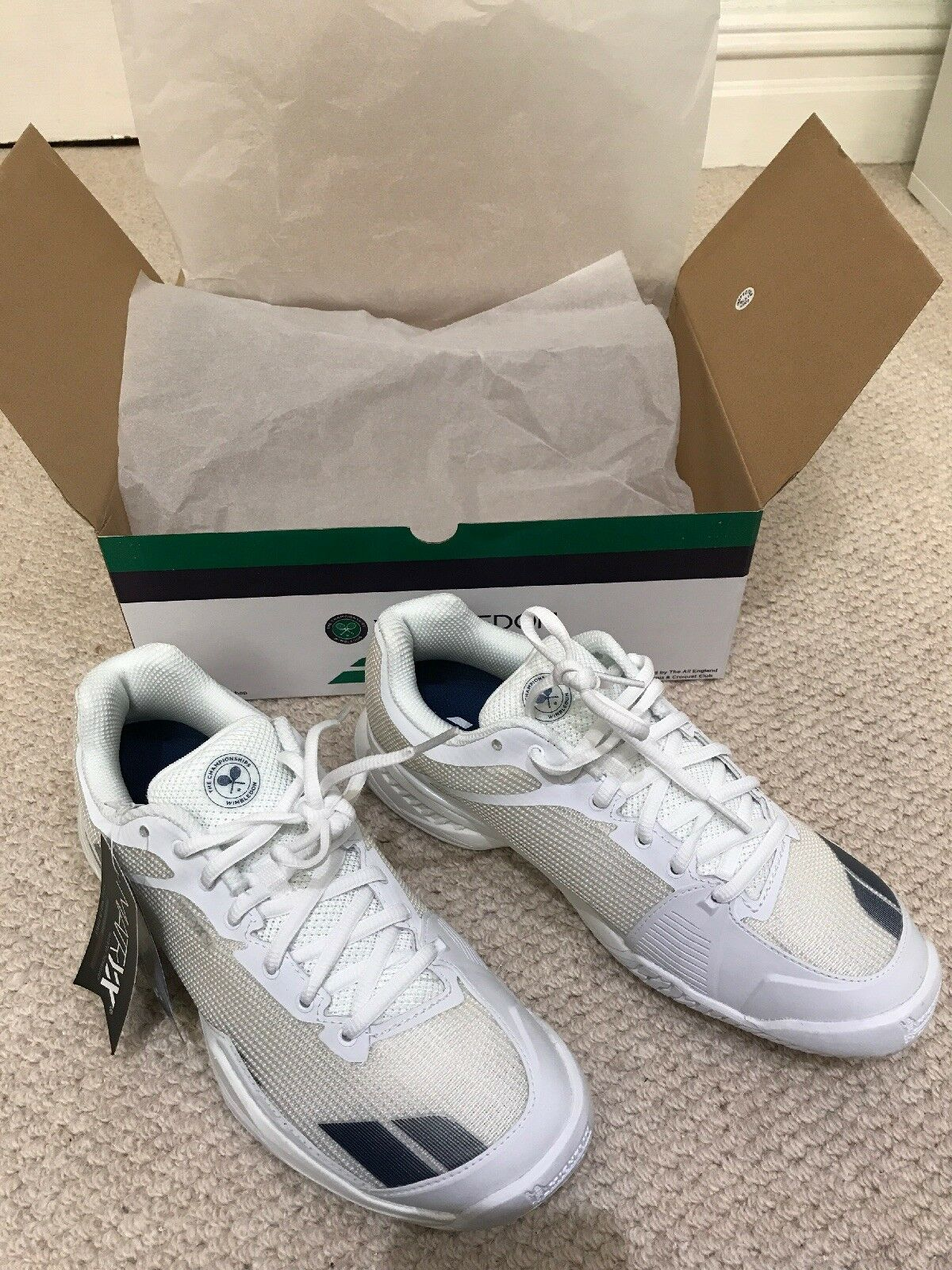BRAND NEW Babolat trainers from the Wimbledon Championships
