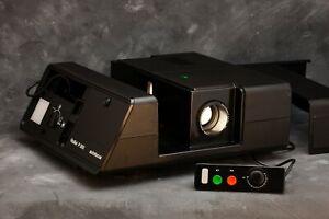 Vintage-Rollei-P360-AF-35mm-Slide-Projector-with-Timer-amp-Slide-Preview-amp-Remote