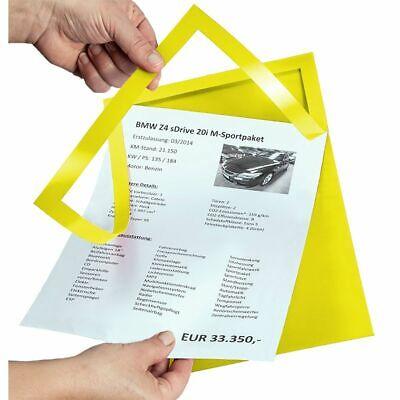 Eichner Einleger für Preisblatthalter DIN A4 Hoc
