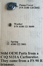 oil pumpworm /& spring for STIHL chainsaw 029,034,039,MS310,MS311 p//n 11256407110