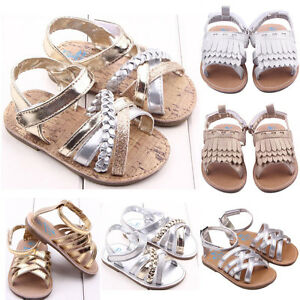 e0989b25f3519 Image is loading Cute-Infant-Girls-Summer-Sandals-Toddler-Baby-Princess-