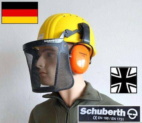 Kettensäge gebraucht Bundeswehr Schuberth Forst Helm Forstschutz Schutzhelm f