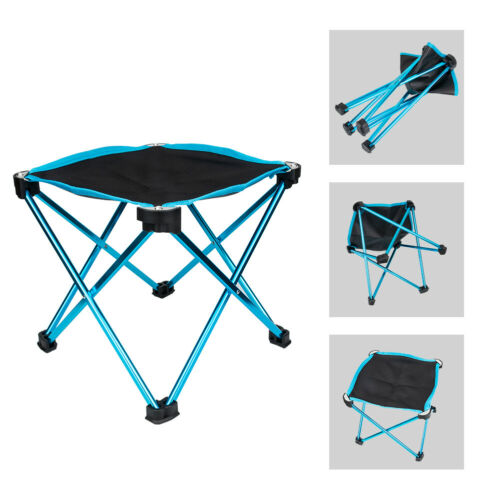 Outdoor Folding Chair Stool Fishing Camping Hiking Picnic Mini Lightweight